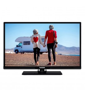 Telefunken LED Smart TV 24 Inch 12/230v (zwart)