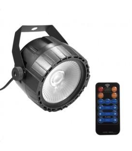 COB Disco Par Light 10W LED 4-in-1 RGB UV IR