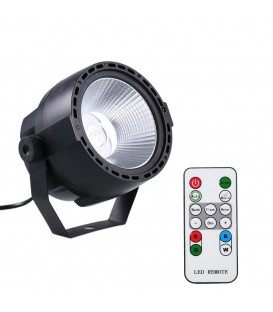 COB Disco Par Light 30W LED 3-in-1 RGB + IR