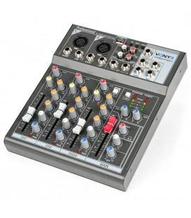 4-kanaal Muziek Mixer Vonyx VMM-F401