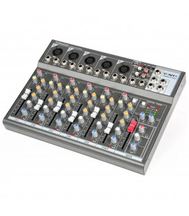 7-Kanaal Muziek Mixer Vonyx VMM-F701