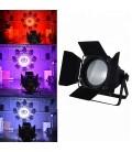 COB Stage Par64 200W LED RGB YLC-200PRO + Barndoor Swivel