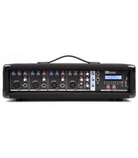 4-Kanaals Mixer met Versterker Power Dynamics PDM-C405A