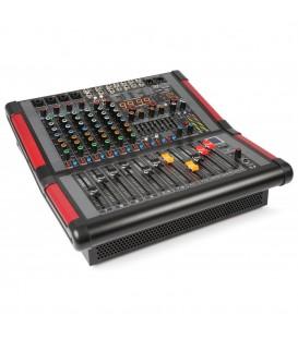 8-Kanalen Stage Mixer met Versterker Power Dynamics PDM-S804A
