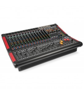 16-Kanalen Stage Mixer met Versterker Power Dynamics PDM-S1604A
