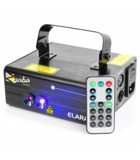 Elara Double Laser 300mW RB Gobo DMX IRC beamZ