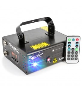 Anthe II Double Laser 600mW RGB Gobo DMX IRC beamZ