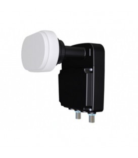 DUO LNB TWIN TV Vlaanderen Inverto Black Pro Astra I/III 60cm
