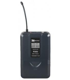 Bodypack zender UHF 16 kan. screw mini Jack PDB3