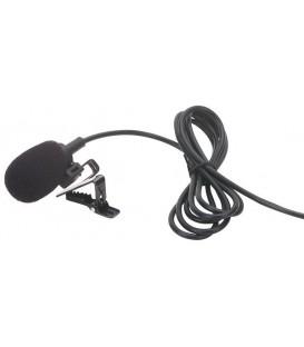 Tie clip microfoon screw mini Jack Power Dynamics PDT3