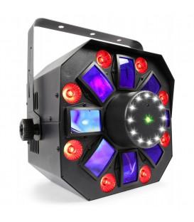 MultiAcis IV LED met laser en strobe beamZ