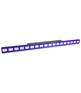 UV LED Bar 18x 3W DMX beamZ LCB48 UV