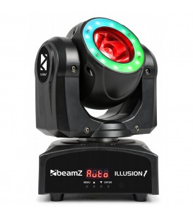 Illusion 1 Moving Head LED Beam met LED ring beamZ