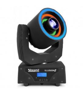 Illusion II Moving Head 3 LED ring 30W Spot beamZ