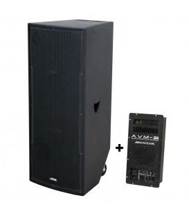 VIBE-30 MKII 800watt + AVM II VERSTERKERMODULE JB SYSTEMS