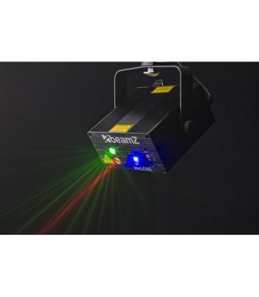 Helene Double laser RG Multi point IRC 3W Blauw LED