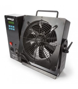 PROFESSIONELE WINDMACHINE met DMX & LCD-display HQ Power HQSM10009