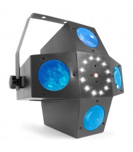 Multitrix LED met laser en strobe beamZ