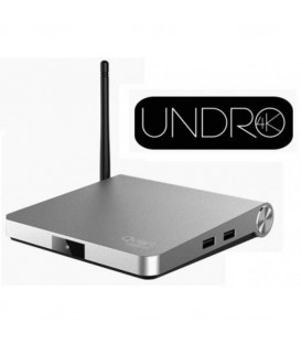 Qviart Undro 4K Android 6.0.1 SAT + IPTV Box