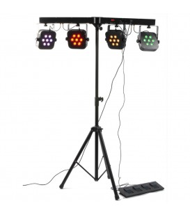 LED Parbar 4-Way Kit 7x 10W 4-in-1 LEDs beamZ Pro