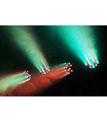 LED PARBAR 4-Way Kit 18x 1W RGB LED's DMX beamZ