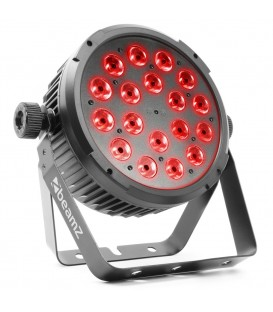 LED FlatPAR 18x 6W 4-in-1 RGBW beamZ BT320