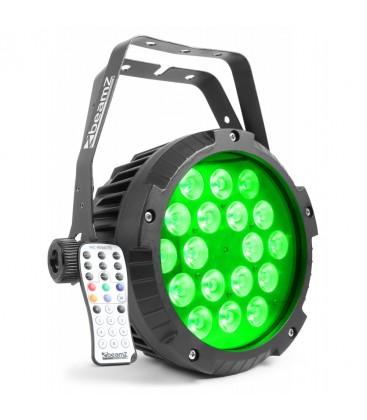Aluminium IP65 LED PAR18 x 12W beamZ BWA418