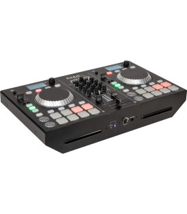 DJ STATION WITH DUAL CD/USB PLAYER, MIXER BLUETOOTH ULTRA-STATION