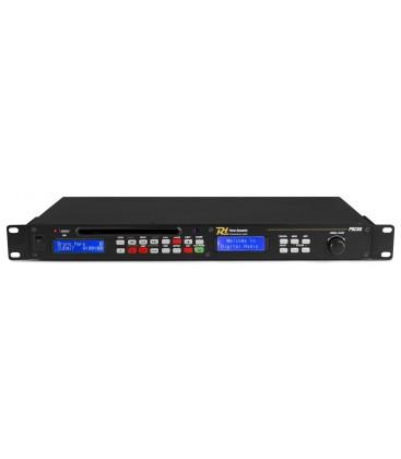 CD-/USB-speler DAB+ FM Tuner 1HE Power Dynamics PDC-60