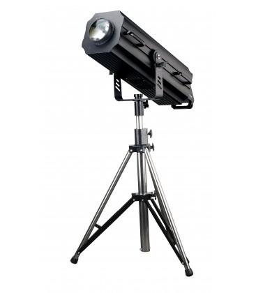 Volgspot FSF-1500 LED DMX gemot. focus en zoom + statief + flightcase