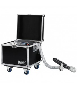 Professional DMX-controlled Snow machine in Flight-Case Antari S500