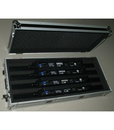 Flight Case voor 4x beamZ LCB145 LED