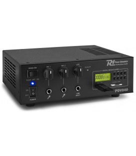 40W/100V-12V Versterker MP3 Power Dynamics PDV040