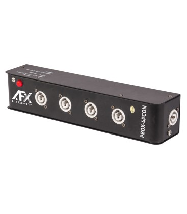 POWERBOX 1 POWERCON IN 5 POWERCON OUT AFX PBOX-4PCON