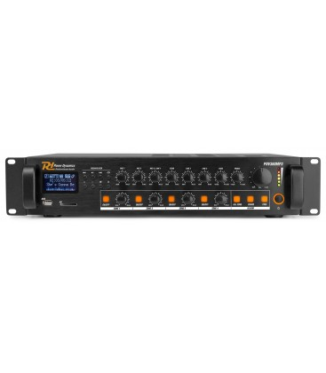 100V 4-zone versterker met MP3 & Bluetooth Power Dynamics PDV360MP3